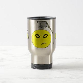 Scowling Grenade Travel Mug