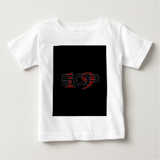 SCP19 white shadow black background Baby T-Shirt