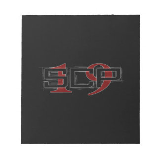 SCP19 white shadow black background Notepad