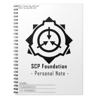 SCP Foundation notepad: symple-W [SCP Foundation] Notebook