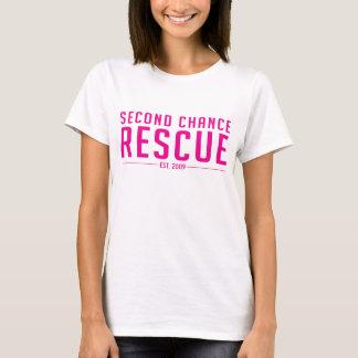 SCR Text + Dog tag Logo T-Shirt