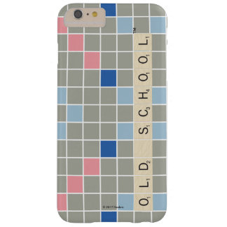 Scrabble Pattern 2 Barely There iPhone 6 Plus Case