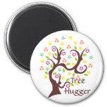 Scraggly Abstract Tree Fridge Magnet