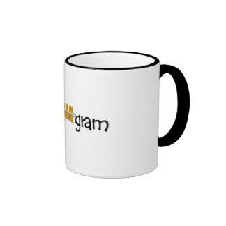 SCRAM*gram Ringer Mug Black 15oz