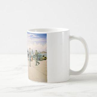 Scramble at Phan Rang by William S. Phillips Coffee Mug
