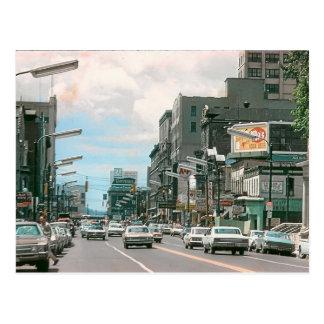 Scranton Pa. Wyoming Ave. Postcard