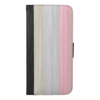 scrap book pastel colors style design iPhone 6/6s plus wallet case