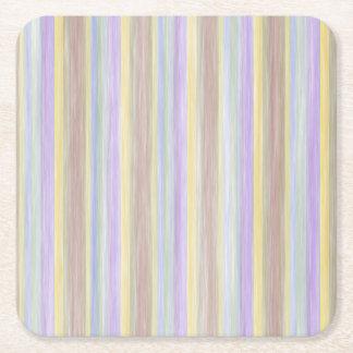 scrap book pastel colors style design square paper coaster