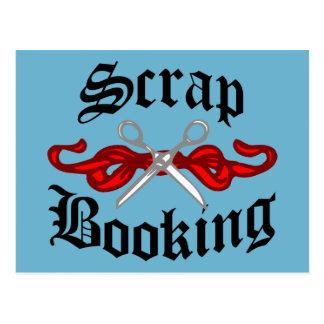 Scrap Booking Tattoo Postcard