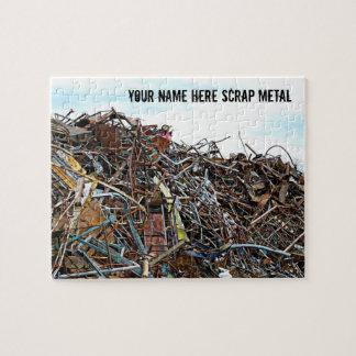 Scrap Metal Pieces of Junk Jigsaw Puzzle