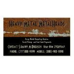 Scrap Metal Recycler Dump or Depot Centre Business Card Template