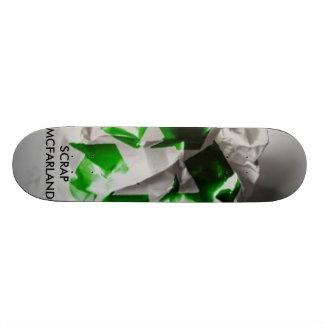 Scrap Paper, SCRAPMCFARLAND 20 Cm Skateboard Deck