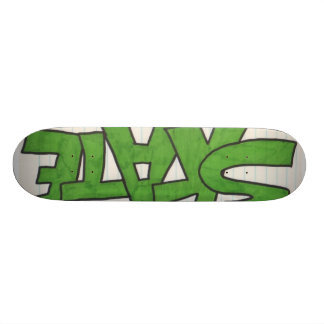 Scrap Paper Skate Boards