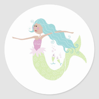 Scrapbook Mermaid Stickers