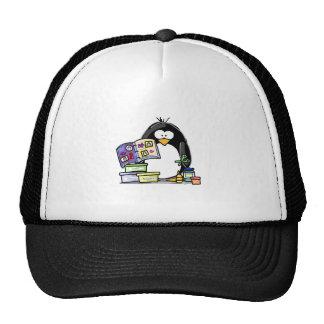Scrapbook Penguin Mesh Hat