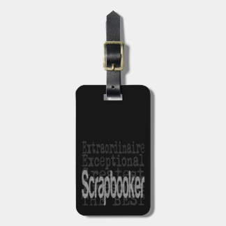 Scrapbooker Extraordinaire Luggage Tag