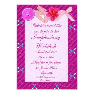 Scrapbooking/Craft Party Invitation 2