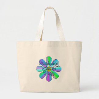Scrapbooking Happy Large Tote Bag