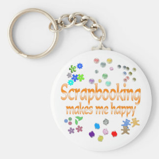 Scrapbooking Key Ring