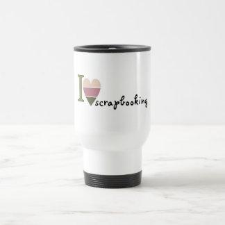 scrapbooking merchandise stainless steel travel mug
