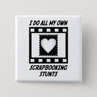 Scrapbooking Stunts 15 Cm Square Badge