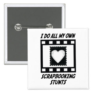 Scrapbooking Stunts 15 Cm Square Badge
