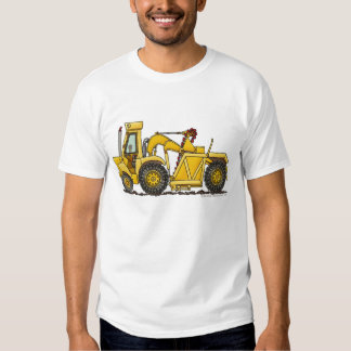Scraper Dirt Mover Excavator Construction Apparel Tee Shirts