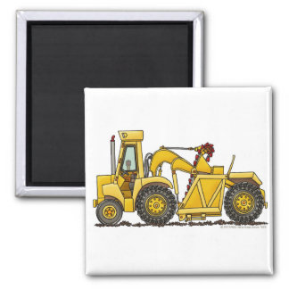 Scraper Dirt Mover Excavator Construction Magnets