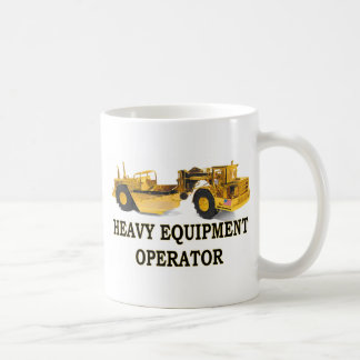 SCRAPER EARTH MOVER COFFEE MUG