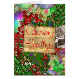 Scrappy Christmas Card