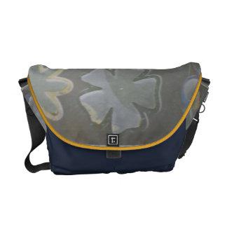 Scrappy Floral Messenger Bag