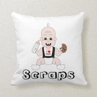 Scraps Pillow Throw Cushions
