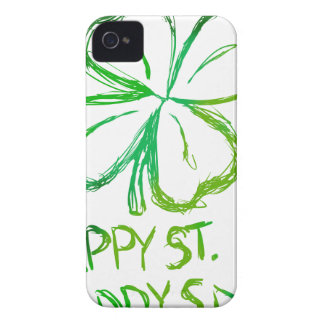 Scratch Card Art - St. Paddy's Day Case-Mate iPhone 4 Cases