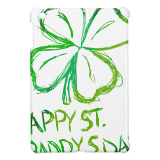 Scratch Card Art - St. Paddy's Day Cover For The iPad Mini
