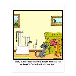 Scratch-post Post Card