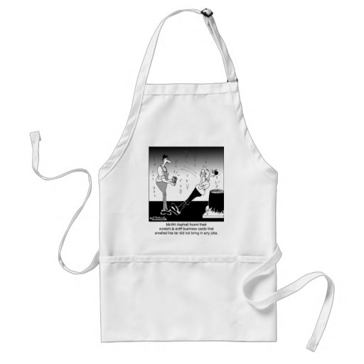 Scratch-&-Sniff Business Cards Aprons
