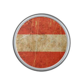 Scratched and Worn Vintage Austrian Flag Speaker