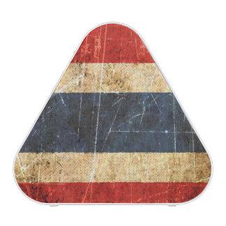 Scratched and Worn Vintage Thai Flag Speaker