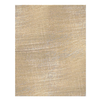 Scratched Brushed Gold Metal Look 21.5 Cm X 28 Cm Flyer