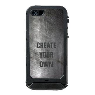 Scratched Brushed Metal Texture Incipio ATLAS ID™ iPhone 5 Case