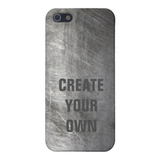 Scratched Brushed Metal Texture iPhone 5/5S Covers