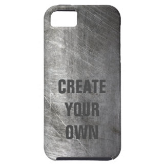 Scratched Brushed Metal Texture iPhone 5 Covers