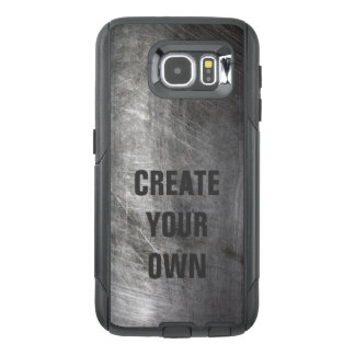 Scratched Brushed Metal Texture OtterBox Samsung Galaxy S6 Case