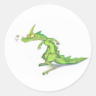 Scrawny Dragon Sticker