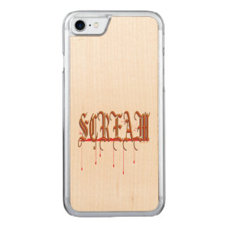 SCREAM Bloody Halloween Carved iPhone 8/7 Case