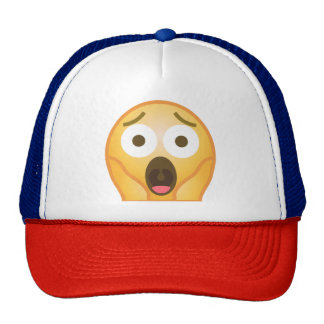 Scream Emoji Cap