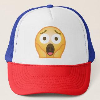 Scream Emoji Trucker Hat