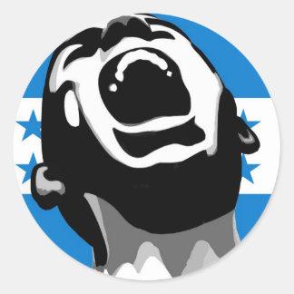 Scream for Honduras Round Sticker
