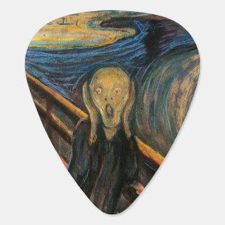 Scream Guitar Pick