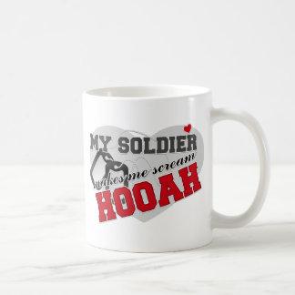 Scream HOOAH Mugs